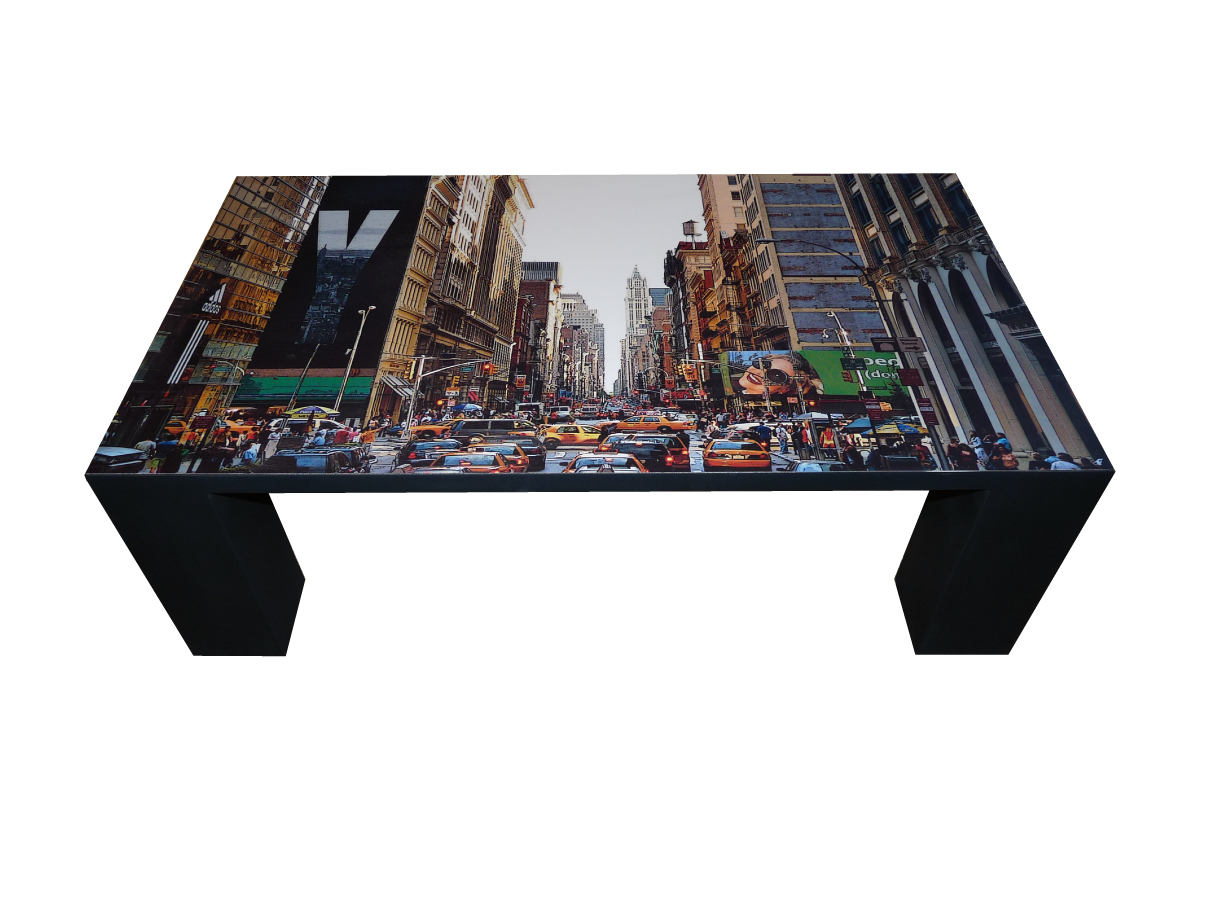 Serendipity art deco tables basses design unique - Table basse relevable new york ...